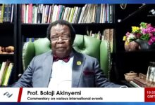 """Photo of Prof. Bolaji Akinyemi says, """"Buckingham Palace Cabal"""" are wrong on Harry & Meghan and calls for judicial review"""